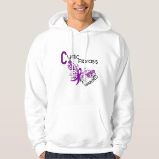 MARIPOSA 3 de la fibrosis quística Sudadera