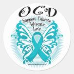 Mariposa 3 de OCD Etiquetas