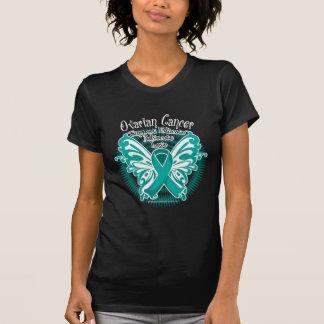 Mariposa 3 del cáncer ovárico poleras