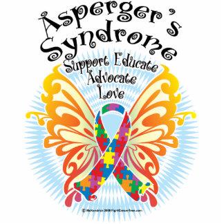 Mariposa 3 del síndrome de Asperger Fotoescultura Vertical