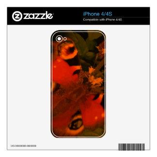 Mariposa 3 skins para eliPhone 4S