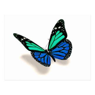 mariposa 3D Postales
