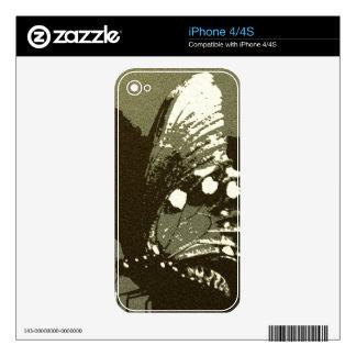 Mariposa 5 calcomanía para iPhone 4S