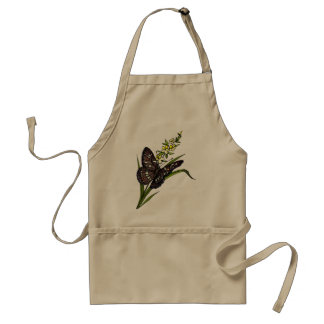 Mariposa 5 delantal