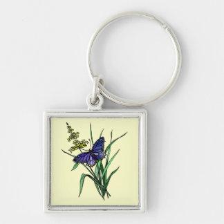Mariposa 6 llaveros personalizados