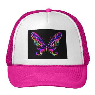 mariposa 6chat gorras de camionero