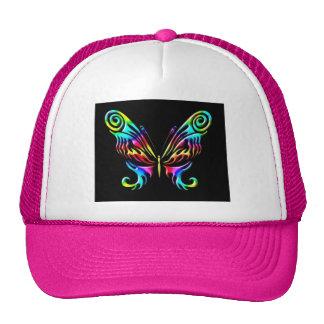 mariposa 6jhat gorras de camionero