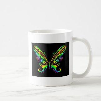 mariposa 6mug taza