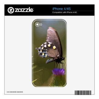 Mariposa 7 iPhone 4 skin