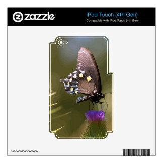 Mariposa 7 iPod touch 4G skins