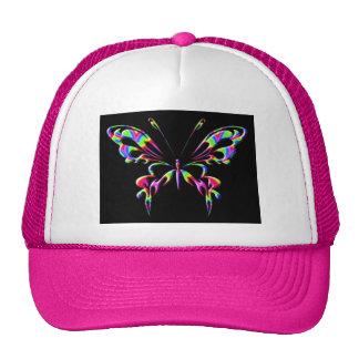 mariposa 8ahat gorras de camionero