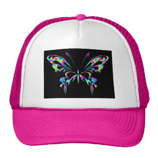 mariposa 8ehat gorras de camionero
