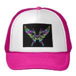 mariposa 9ehat gorro de camionero