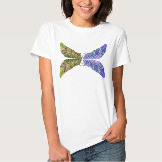 Mariposa abigarrada de la hoja playeras