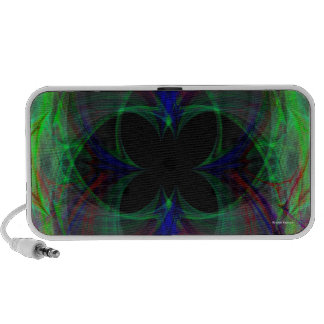 Mariposa abstracta 2 iPhone altavoces