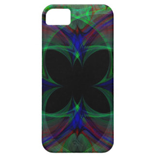 Mariposa abstracta 2 iPhone 5 fundas