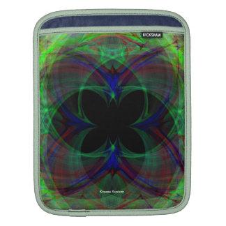 Mariposa abstracta 2 funda para iPads