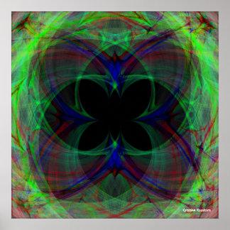 Mariposa abstracta 2 posters