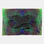 Mariposa abstracta 2 toalla de cocina