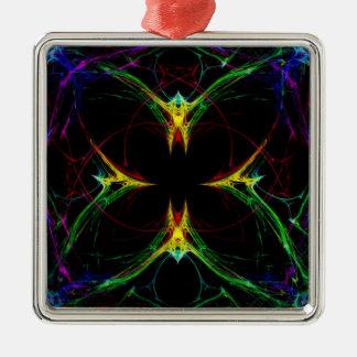 Mariposa abstracta 3 ornamentos de reyes