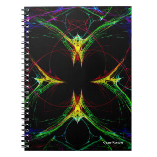 Mariposa abstracta 3 libreta