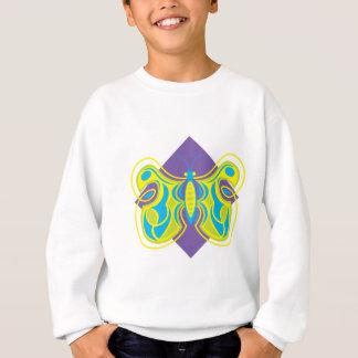 mariposa abstracta bonita remeras