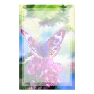 Mariposa abstracta colorida  papeleria de diseño