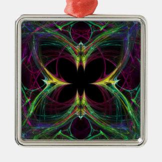 Mariposa abstracta ornamento para arbol de navidad