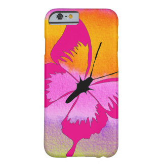 Mariposa abstracta funda de iPhone 6 barely there