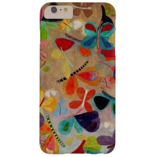 Mariposa abstracta funda para iPhone 6 plus barely there