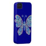 Mariposa abstracta iPhone 4 Case-Mate funda