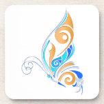 Mariposa abstracta posavaso