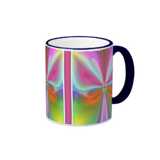 Mariposa abstracta taza de café