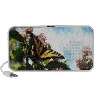 Mariposa Laptop Altavoces