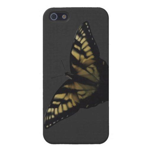 Mariposa amarilla de Swallowtail iPhone 5 Fundas