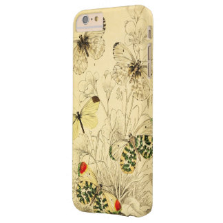 Mariposa amarilla funda de iPhone 6 plus barely there
