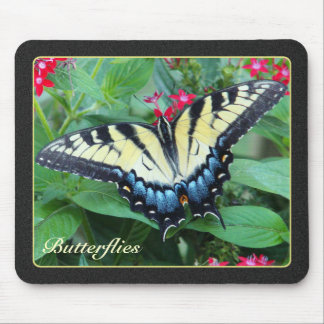 Mariposa amarilla Mousepad de Swallowtail