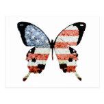 Mariposa americana postal