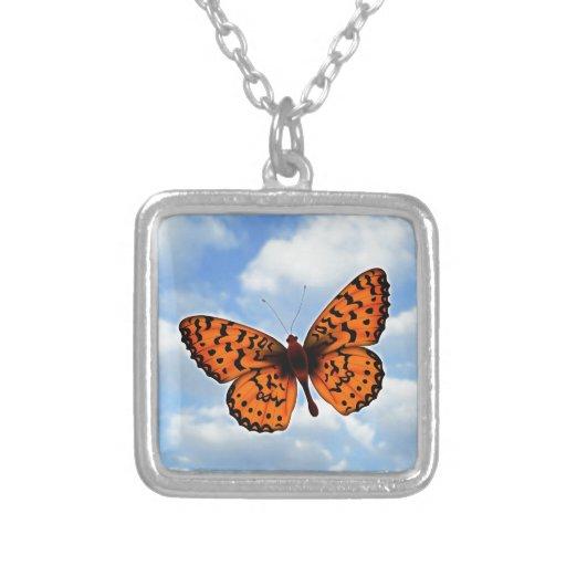 Mariposa anaranjada grimpolas personalizadas