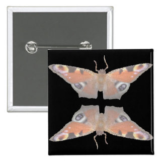 mariposa anaranjada (imagen digital) pins