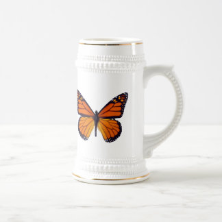 Mariposa anaranjada Stein Jarra De Cerveza