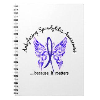 Mariposa Ankylosing 6,1 de Spondylitis Libreta