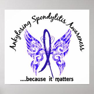 Mariposa Ankylosing 6,1 de Spondylitis Póster
