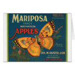 Mariposa Apples Card