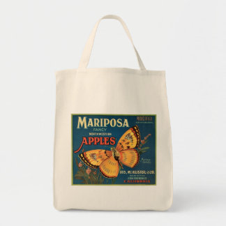 Mariposa Apples Crate Label Tote Bag