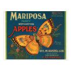 Mariposa Apples Postcard