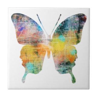 Mariposa artística azulejos