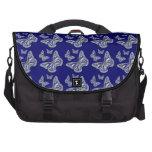 Mariposa azul bolsa para ordenador