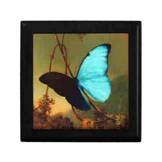 Mariposa azul de Martin Johnson Heade Morpho Caja De Joyas