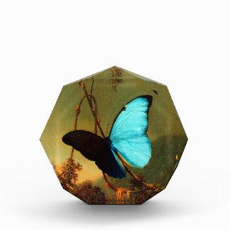 Mariposa azul de Martin Johnson Heade Morpho